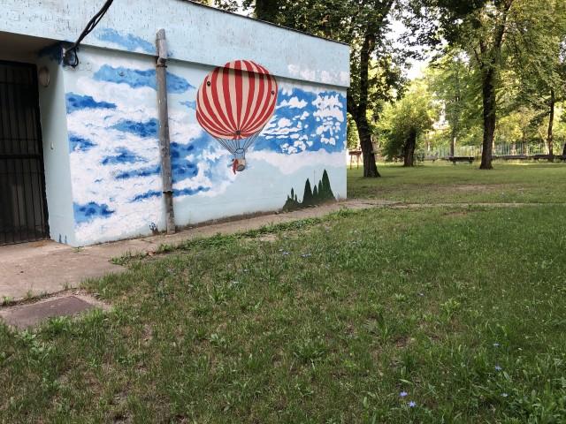 フニャ高の壁画