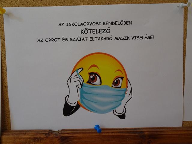 保健室のマスクちゃん