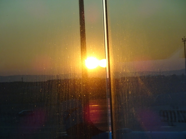 ウィーンの朝日