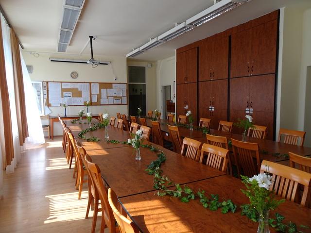 卒業式 職員室