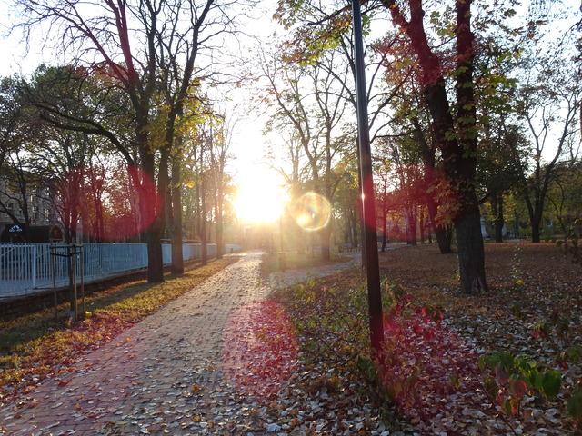 秋の日暮れ